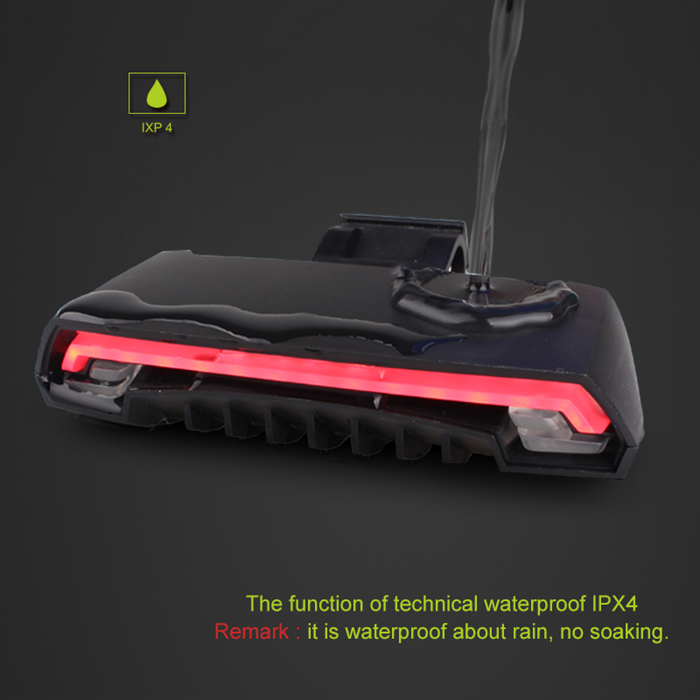 Meilan X5 Smart Bicycle Lights Turn Signal Remote LED Rear Light Wireless Bike Laser TailLight Beam