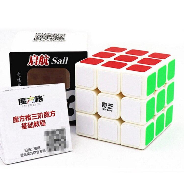 Qiyi Mofangge QiHang W Magic Cube 3x3 5.6 CM Speed Cube  Sail Cubo Magico Educational Puzzle Cube Toys for Children 8