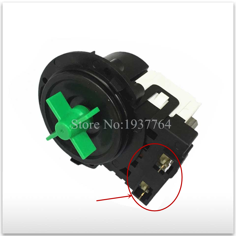 цена good working for Original washing machine parts BPX2-111 BPX2-112 5859EN1006 drain pump motor used