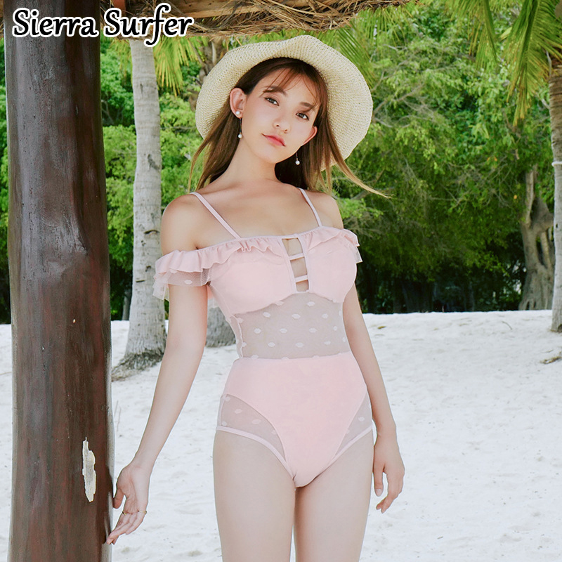 Plus Size Swimwear Swimsuit Womens Beach Sport Suits One Piece Swimming Suit Woman One-Piece Female 2018 New Women Shaded