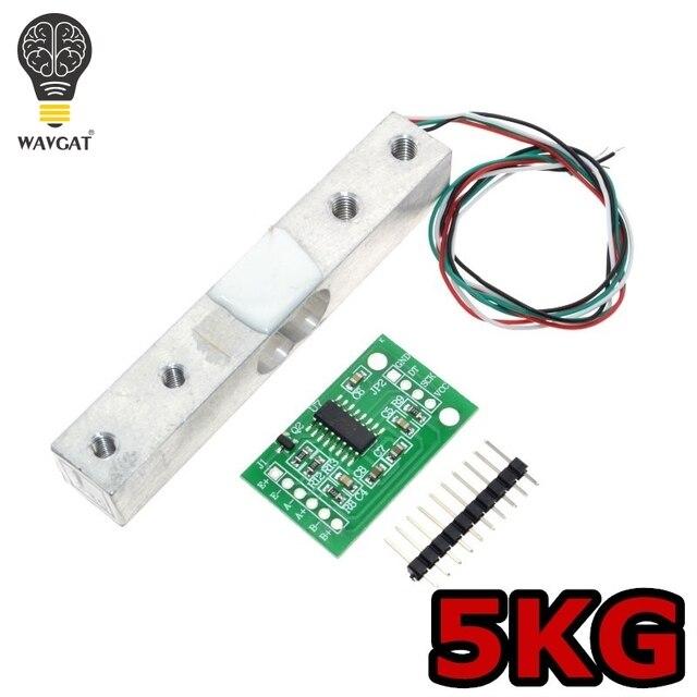 WAVGAT Digitale Wägezelle Gewichtssensor 5 KG Tragbare Elektronische ...