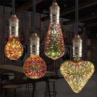 E27 Led-lampe 3D Stern 220V Bunte Feuerwerk Bombillas Led Edison Birne Urlaub Weihnachten Dekoration Lampada LED Lampe Lamparas