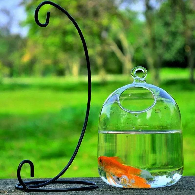 SOLEDI Διαφανές Κρεμαστό Γυαλί Δοχείο - Διακόσμηση σπιτιού - Φωτογραφία 3