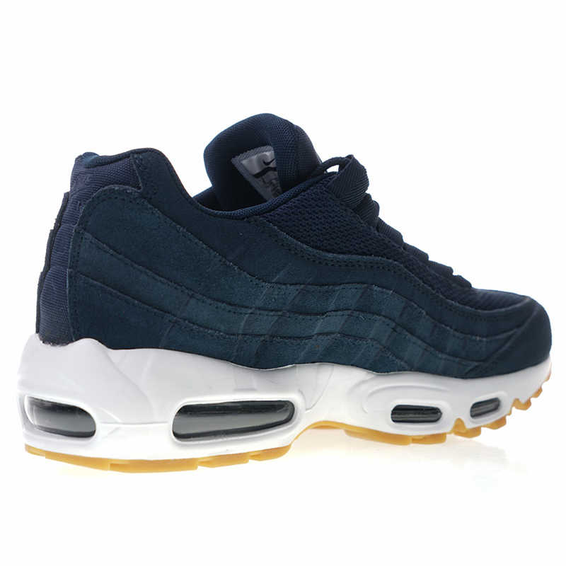 0746e56d6cabe 5f8c4 bc6b5  new zealand new arrival authentic nike air max 95 premium mens running  shoes dark blue 7838b