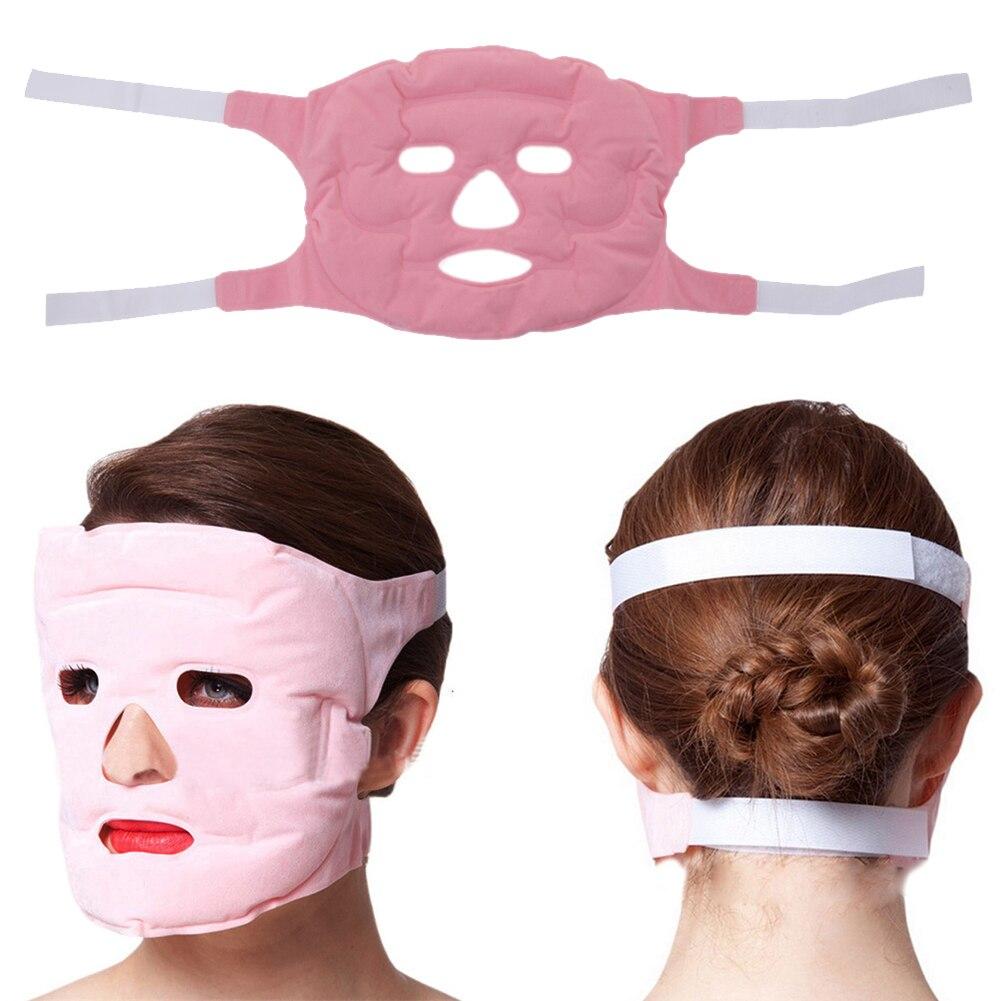 3D Cara Delgada Máscara Imán Turmalina Gel Cara Delgada Belleza Máscara Facial M