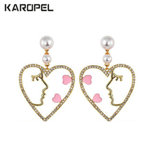 2019 New Trend Fashion Dolphin Fishtail Earrings AAA Zircon earrings for women creative jewelry gifts