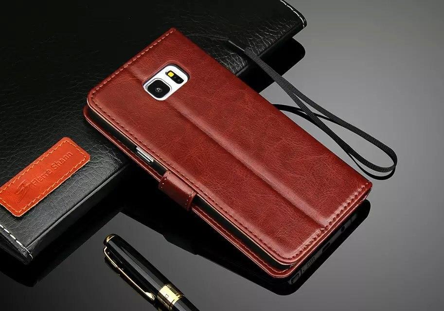 ca8018bd6efee Darmowa Wysyłka Case do Samsung Galaxy PU64 NOTE5 Odwróć Luksusowe Portfel  Skórzany Pokrowiec Do Samsung galaxy Note5