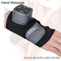 2018 best present new hand massage Infrared heating therapy pad hand support electric heated airpressure Wrist massager