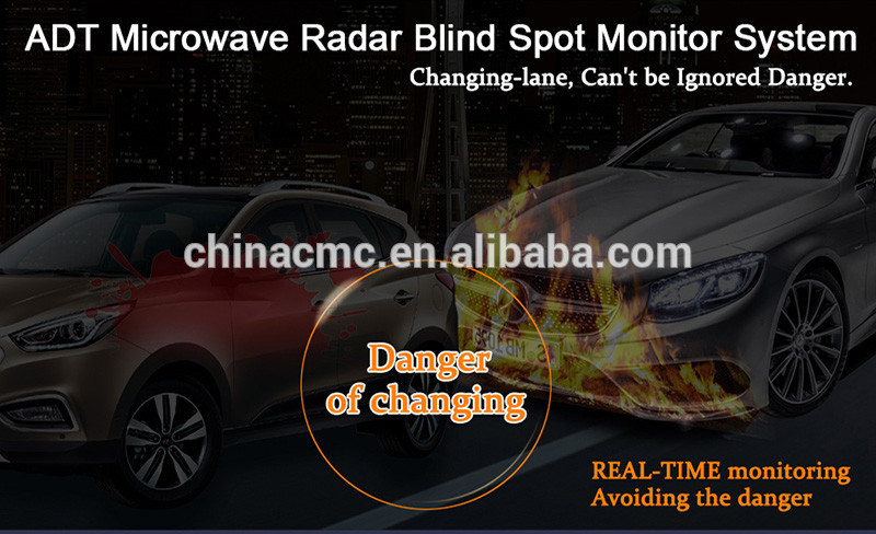 24 GHZ Microwave Automotive Radar Blind Spot Monitor Side Assist System fit for every vehicle-