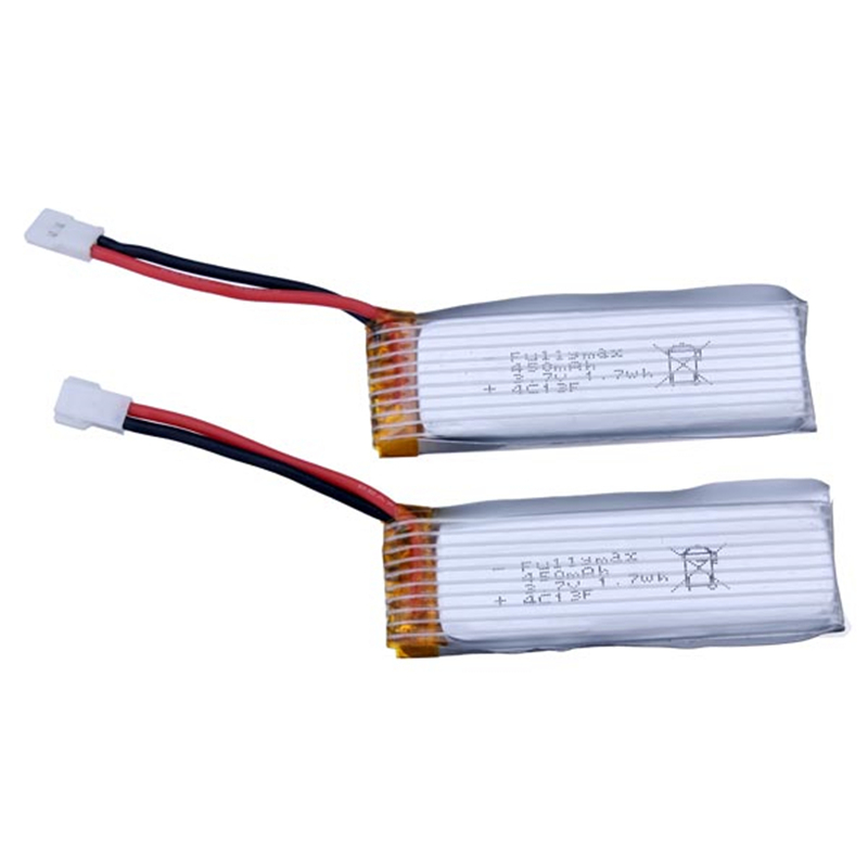 2 pcs/ lot Super quality <font><b>3.7v</b></font> <font><b>450mAh</b></font> WLtoys V930 V977 RC Helicopter Parts <font><b>3.7V</b></font> <font><b>450mAh</b></font> Lipo Battery V977-006 image