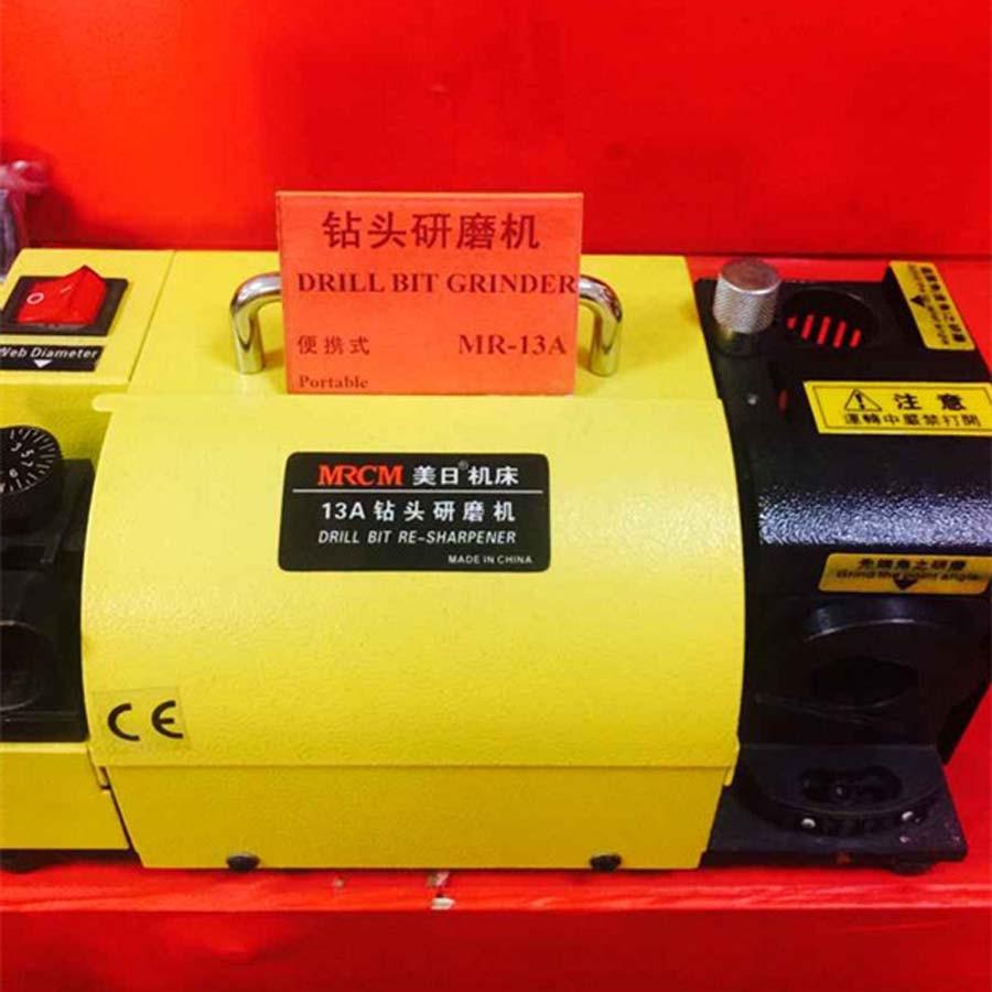 Image 5 - MR 13A Drill Bit Sharpener Drill Grinder Grinding Machine portable carbide tools, 2 13mm 100 135Angle CE Certification 220v/110vbit sharpenerdrill grinderdrill bit sharpener -