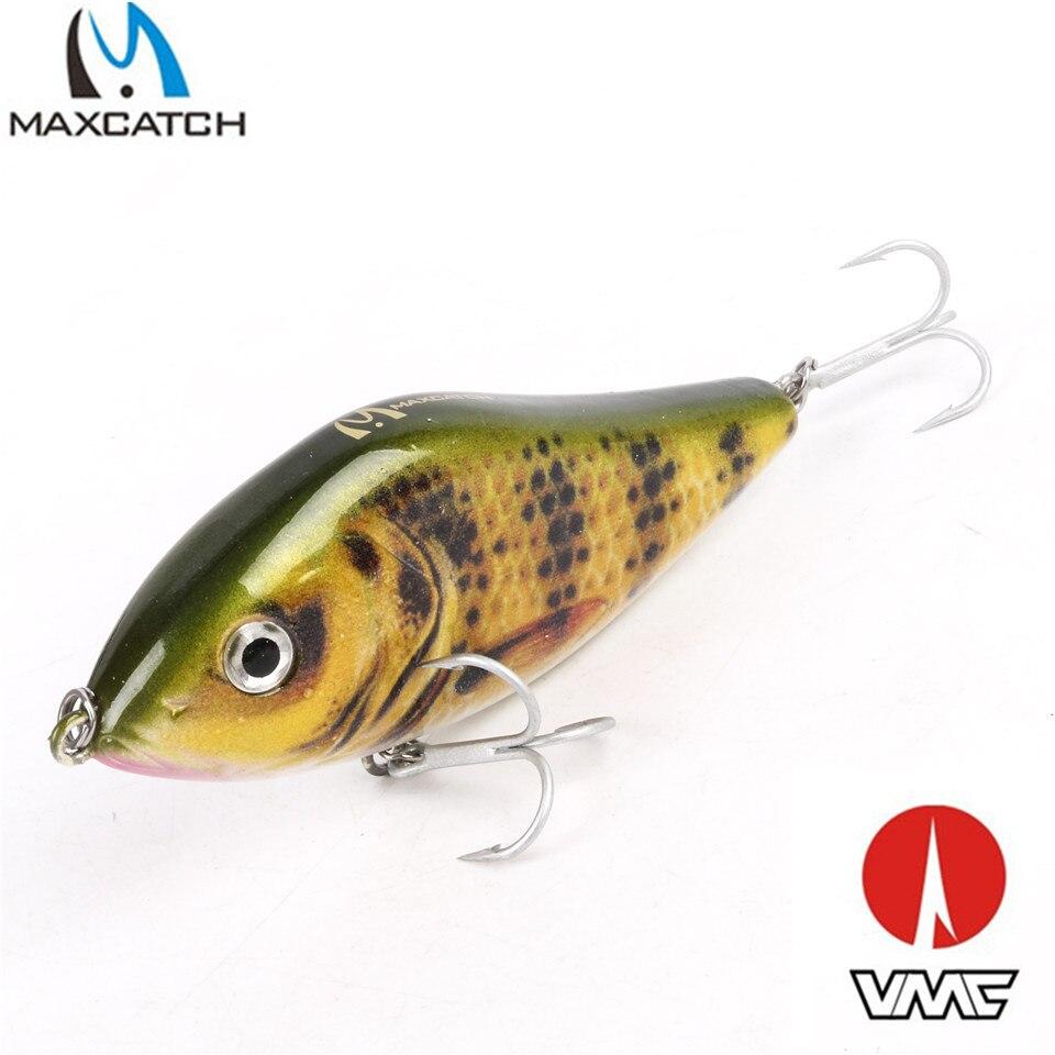 Maximumcatch 3 Colors 47g 100mm M&X Japan Lure Pike Buster JerkBait Mustad Hooks Hard Bait Bass Pike Lure