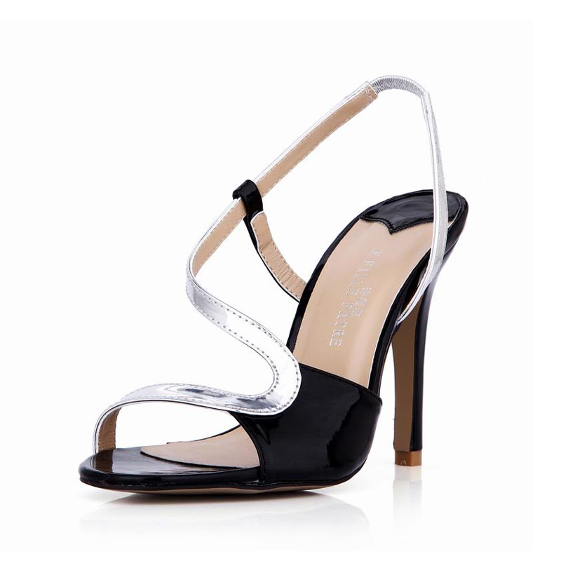 ФОТО Women Sandals Sexy Thin High Heels Mixed Colors Woman Ladies Valentine Club Party Shoes Zapatos Mujer Tenis Feminino Plus Size