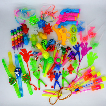 100PCS Toys for Kids Party Favors  Birthday Gift Bags Pinata Fillers Children Carnival Prizes Award Gifts      Christmas