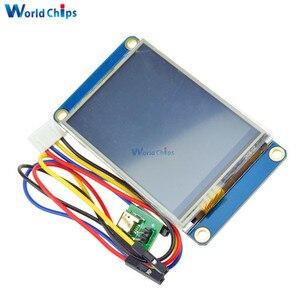 """Image 4 - Tiếng Anh Nextion 2.4 """"TFT 320X240 Màn Hình Cảm Ứng Điện Trở USART UART Màn Hình HMI Nối Tiếp Module LCD Hiển Thị Cho Arduino raspberry Pi 2 A +"""