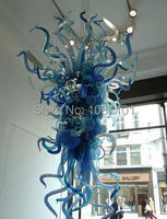 Free Shipping AC LED Home Corridor Lighting Blue Colored Ceiling Lamps Chandeliers