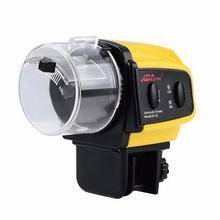 Аквариумный бак таймер автоматической подачи корма для рыбы цифровой ЖК-дисплей автоматическая подача пищи электронная рыба еда s фидер