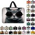 •̀ •́ Симпатичные желтый кот 15 ноутбук рукав сумка из неопрена ...