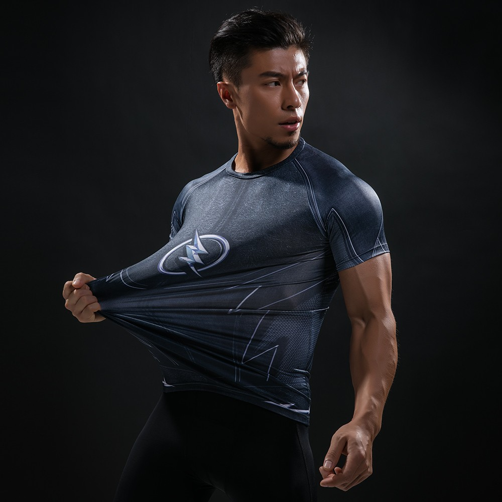 Punisher 3D Printed T-shirts Men Compression Shirts Long Sleeve Cosplay Costume crossfit fitness Clothing Tops Male Black Friday 38