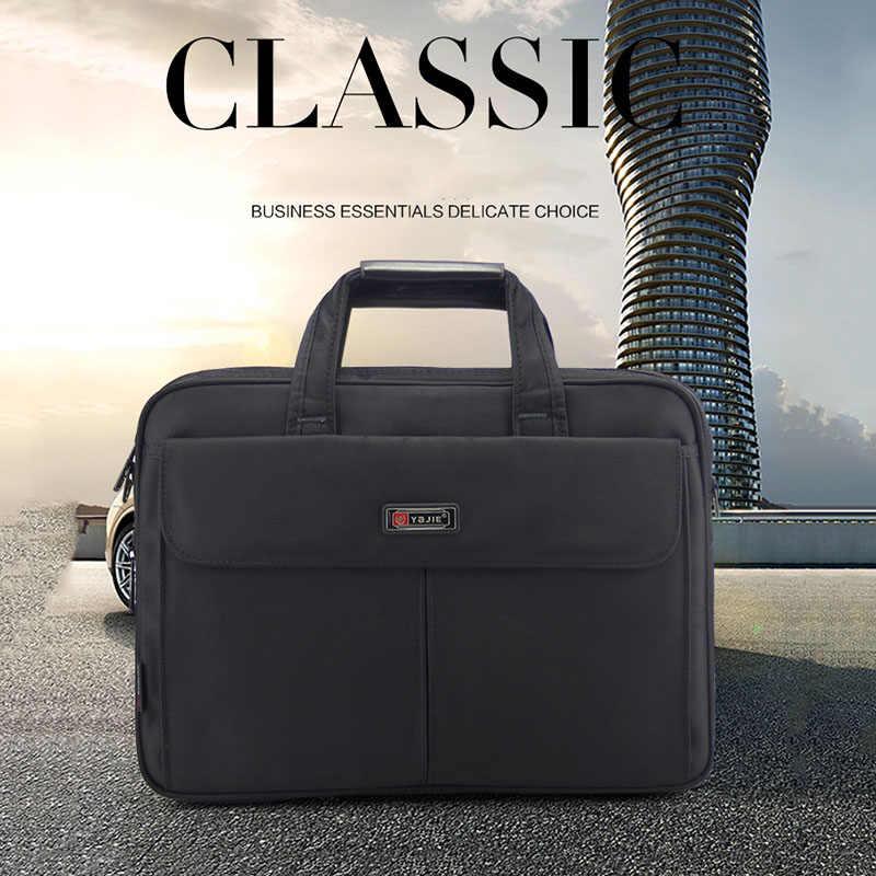 4038658c7c08 ... Бизнес портфель для ноутбука сумка мужская сумка ткань Оксфорд большой  емкости многофункциональные сумки высокого качества сумки ...