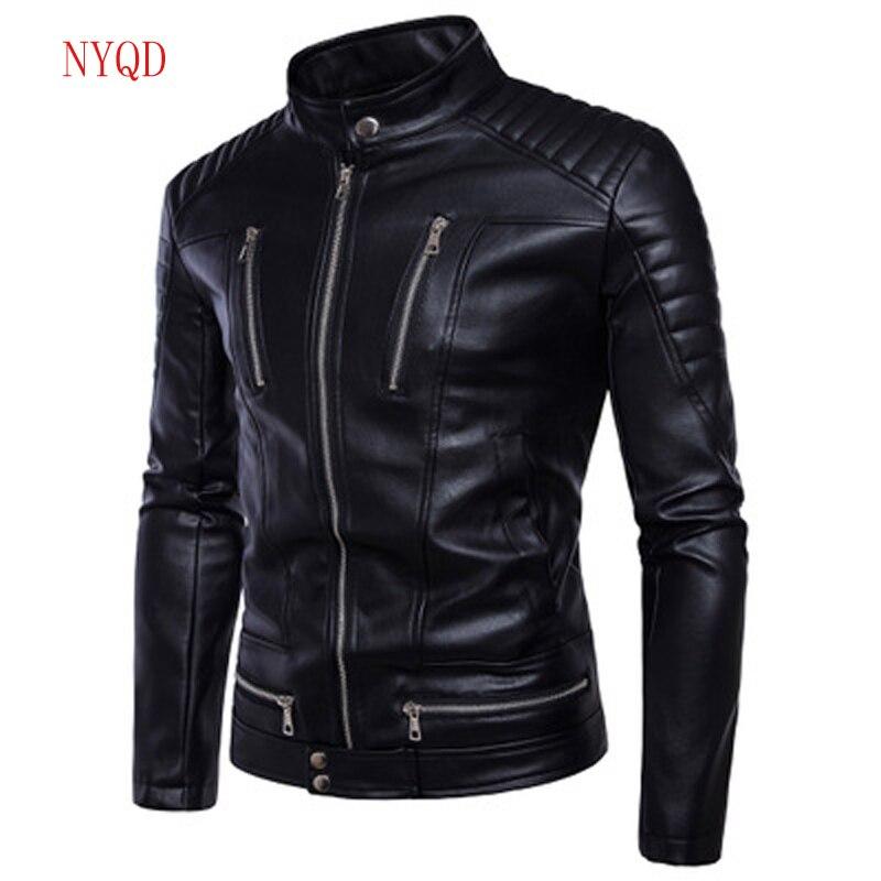 Motorcycle Wear Men Racing Motorcycle Jacket Winter Motorbike clothing Protector waterproof Moto Racing PU Leather Motor Jacket