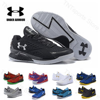 Under Armour Basketball Shoes Men UA CURRY ONE 1 Sport Shoes zapatillas hombre Outdoor Athletic Cushioning Sneakers Size 40 46
