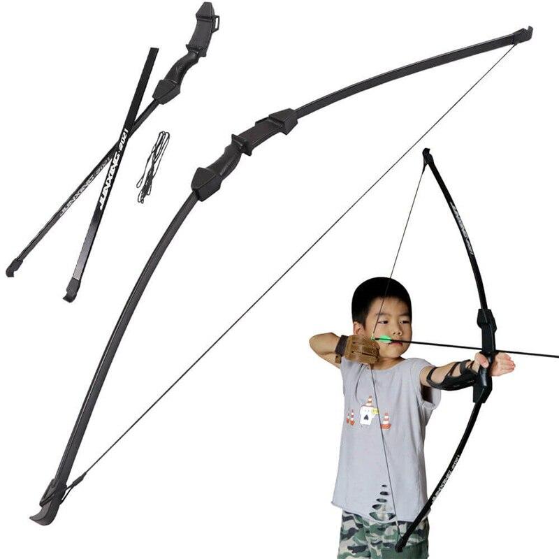 15lbs 45 inch Takedow arc classique enfants enfants jeunes pratique L/R main jeux de tir à l'arc à usage général tir léger en toute sécurité
