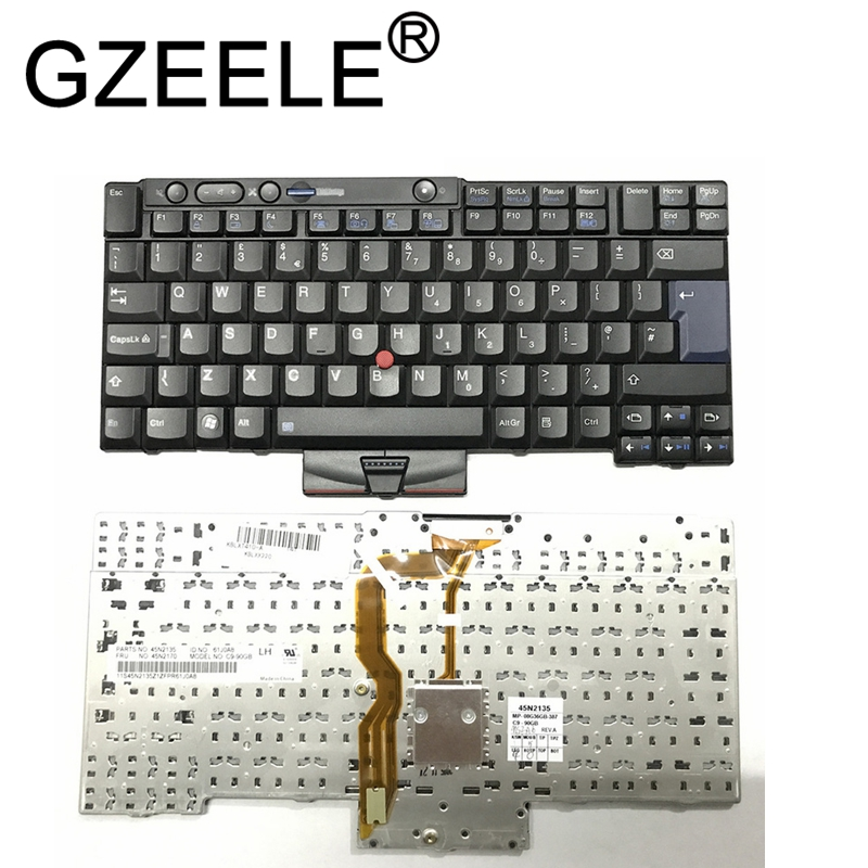 GZEELE New UK Laptop Keyboard for IBM for Lenovo X220 X220i X220T T400s T410 T510 W510 W520 T520I T510I T410I 45N2135 45N2170 UKGZEELE New UK Laptop Keyboard for IBM for Lenovo X220 X220i X220T T400s T410 T510 W510 W520 T520I T510I T410I 45N2135 45N2170 UK