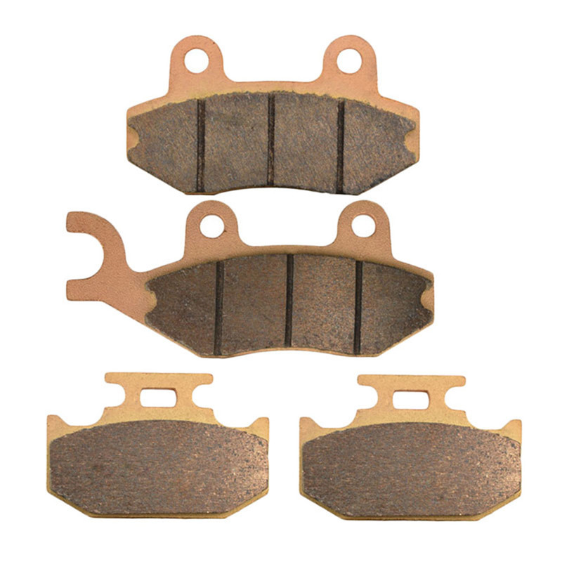 Motorcycle Parts Copper Based Sintered Front & Rear Brake Pads Kit For SUZUKI DR250 1990-1995 RM125 RM250 RMX250 1989-1995  цены