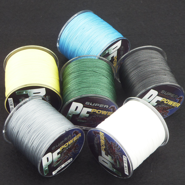 SUPER STRONG PE BRAID FISHING LINE 500m 6 colors for choice