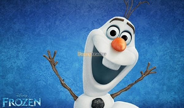 Fancytrader 2014 Top Selling 24\'\'60cm Jumbo Plush Frozen Olaf Snowman in Frozon Cartoon for Child Gift Free Shipping FT50024(7)