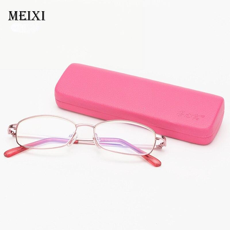 Women's Anti-Blu-ray Reading Glasses Ultra-light Resin Elegant Lady Powder Frame Reading Glasses Fashion Eyewear +1.5 2.0 2.5