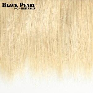 Image 5 - Black Pearl Hair  Brazilian Straight Hair 613 Honey Blonde Bundles 1/3/4 Bundles Remy Hair Weaving Human Hair Bundles 10 26 Inch