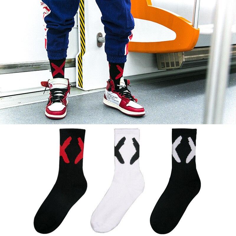 Trend Mark Fashion Funny Socks Man Cute Novelty Street Style Hip Hop Socks Men Cotton Casual Tube Socks For Male Streetwear Meias Sokken Customers First Men's Socks