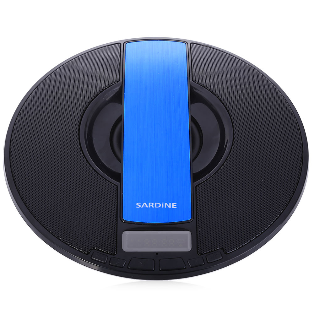 Portable Bluetooth Speaker Original SARDiNE SDY-021 HiFi Stereo Wireless Loudspeaker with FM Radio LED Display Support TF Card