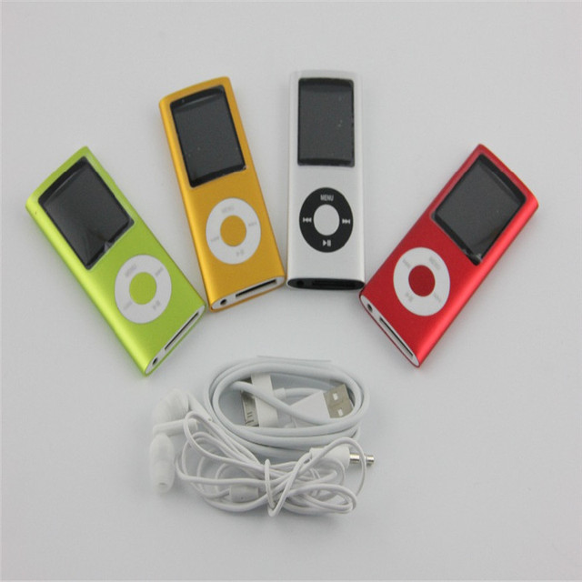 2016 Cheapest 4th MP4 Player 32GB 1.8inch LCD Screen MP4 Electronic Products +Case +Earphone +USB