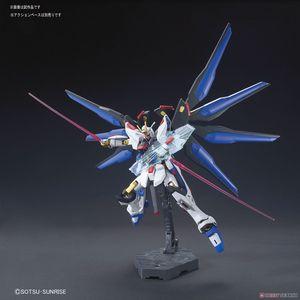 Image 3 - Bandai Gundam HGCE 201 HGUC 1/144 ZGMF X20A Sciopero Freedom Mobile Suit Assemblare Modello Kit Action Figure In Plastica Modello