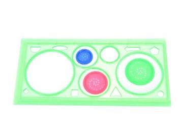 Пластиковые Электрические шаблоны студентов физические электрические рисунок линейка цепи дизайн-доска для рисования