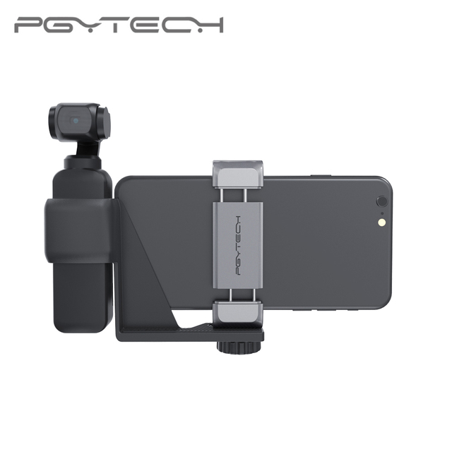 In Storck PGYTECH For DJI OSMO Pocket 2 Phone Holder Set Bracket