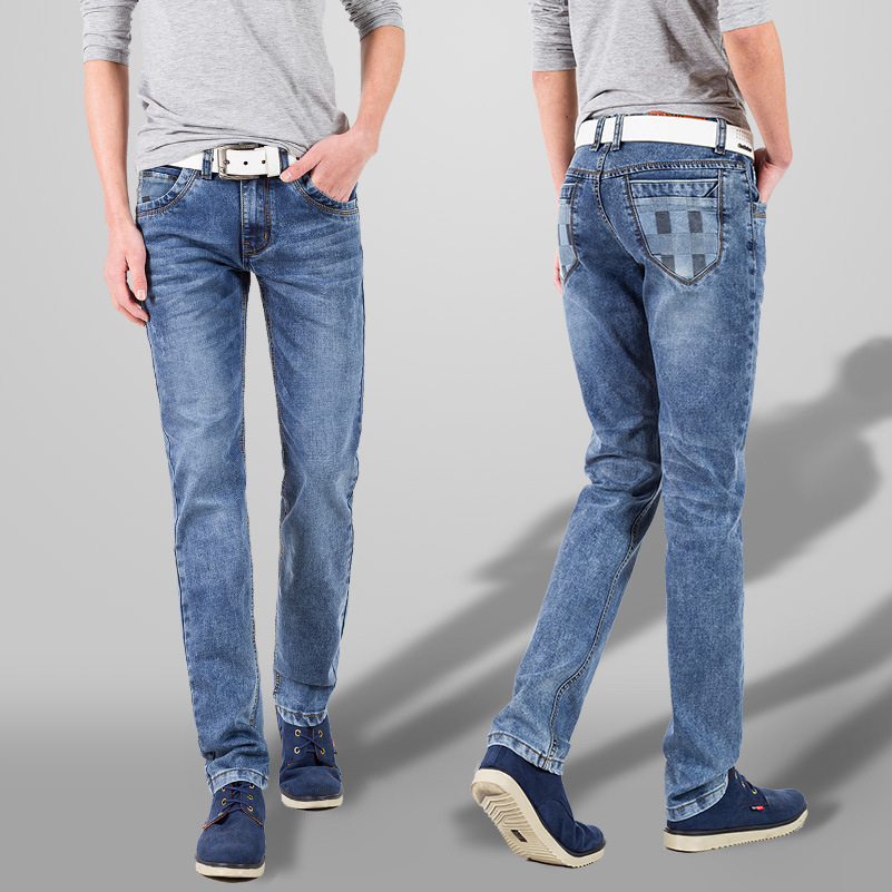 new 2018 mens jeans Cultivate ones morality snow The cowboy pants