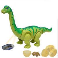 Dinosaurier Roboter Spielzeug Spiele Elektronische Eier Legen Brachiosaurus Walking Dinosaurier Spielzeug Pet Geschenk Glowing Virtuelle Pet Pop Geschenk