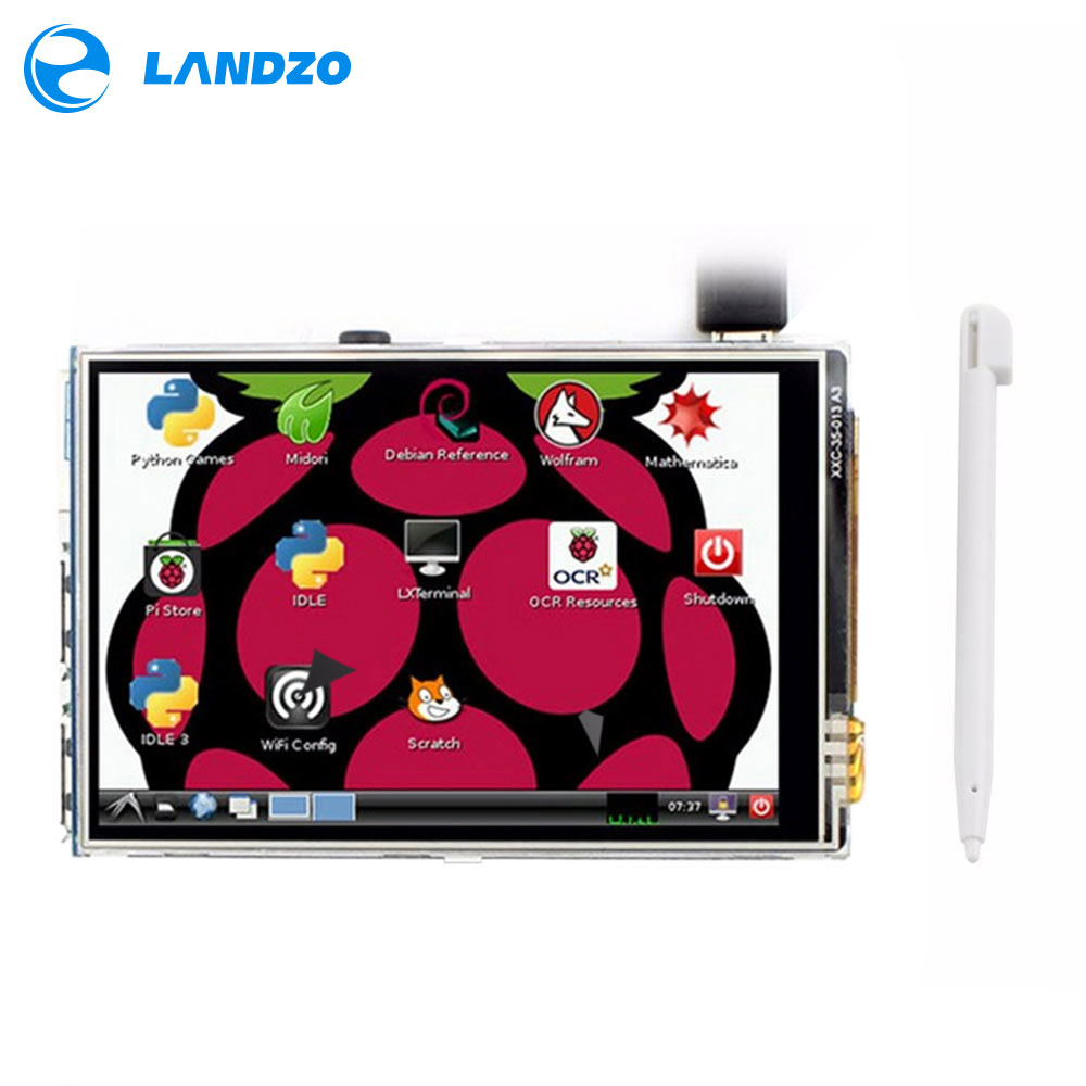Raspberry pi 3,5 zoll tft lcd Modul Für Raspberry Pi 2 Modell B & RPI B + raspberry pi 3 (unterstützung Raspbian System)