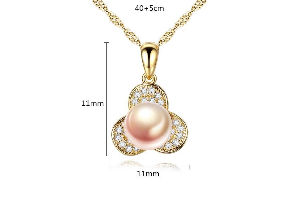 S925 серебро ожерелье естественный пресноводный жемчуг Бутик ювелирных изделий подарок G01