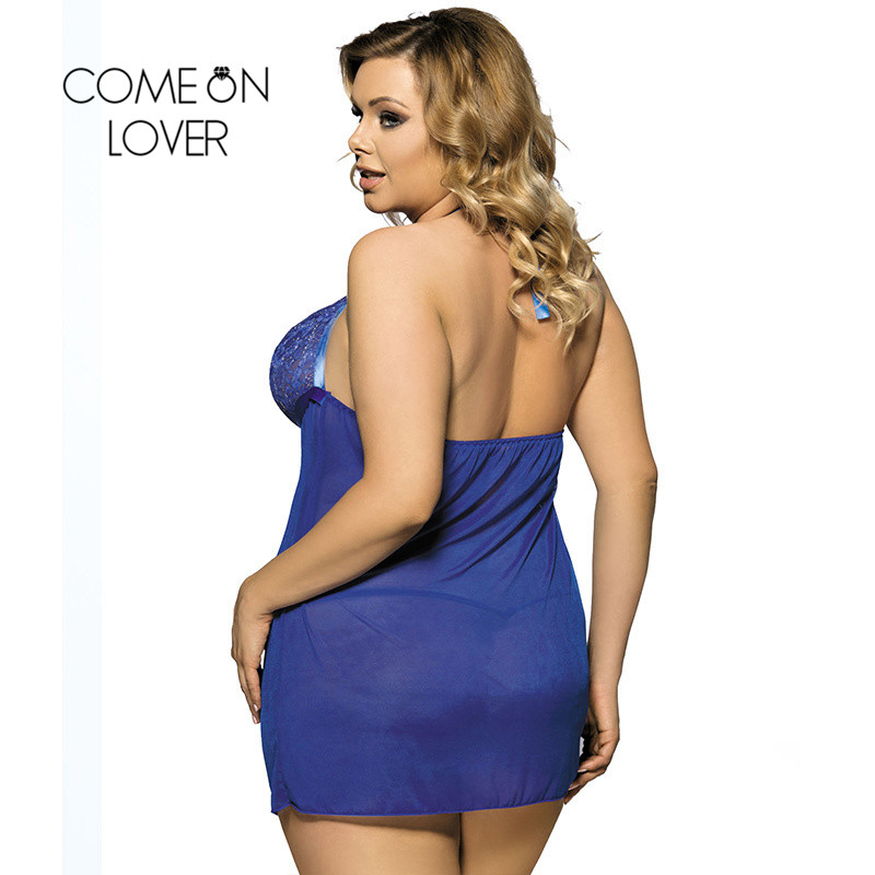 Comeonlover Erotic Lingerie Sleepwear Intimate Underwear Sex Products RI70207 Plus Size Lingerie Nuisette Grande Taille Sexy 1