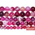 Бесплатная доставка натуральный камень Окаймленный пурпурный кружево Агаты круглые свободные бусины 4 6 8 10 12 мм выберите размер для ювелирных изделий - фото