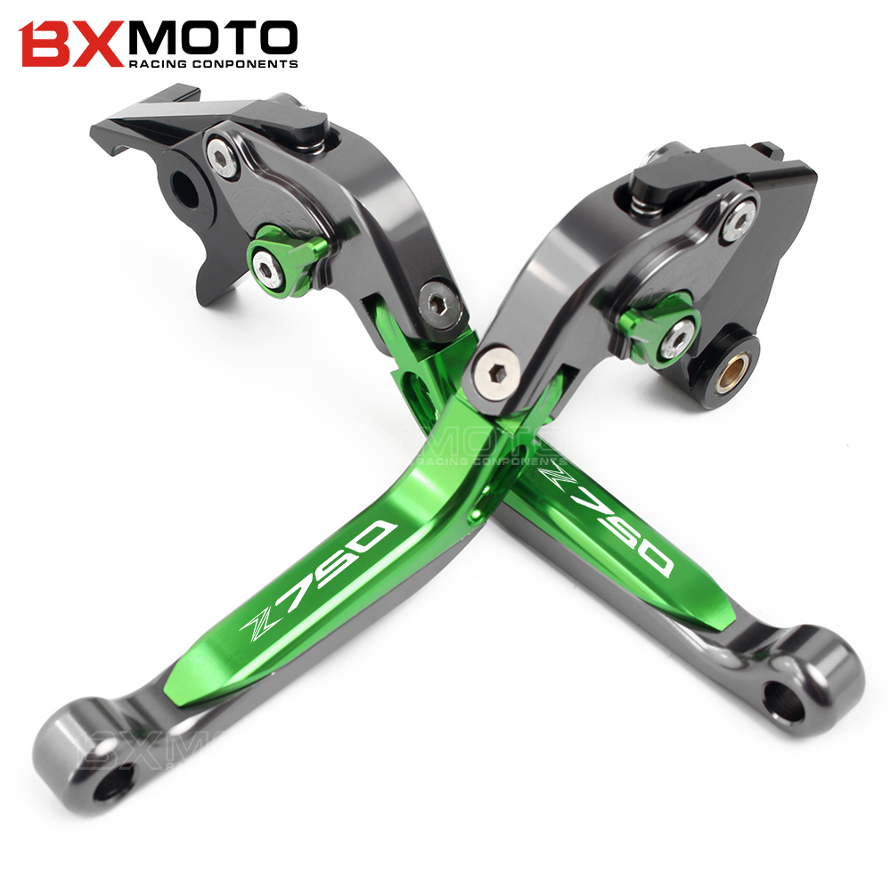 Motorcycle Brake and Clutch Lever for Kawasaki Z750 2007 2008 2009-2011 2012 Z650 2017 Z 750 650 Brake clutch lever sets mefoto a0320q00 aluminum alloy mini camera tripod portable desktop tripod stand support steady hold camera with tripod head