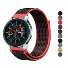 sport strap for samsung galaxy watch 46mm active gear S3 frontier band huawei gt 2 amazfit bip bracelet 22/20mm Woven Nylon belt
