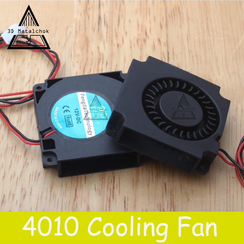 3D Matalchok Printer Accessories 12V 24V 40*10mm 4010 40mm DC Turbo Fan Bearing Blower Radial Cooling Fans Creality CR-10 Kit