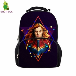 Avengers 17 Cal panie Plecak Student szkoła torby dla nastoletnich torba podróżna Unisex plecaki Plecak Szkolny Mochila Notebook 4