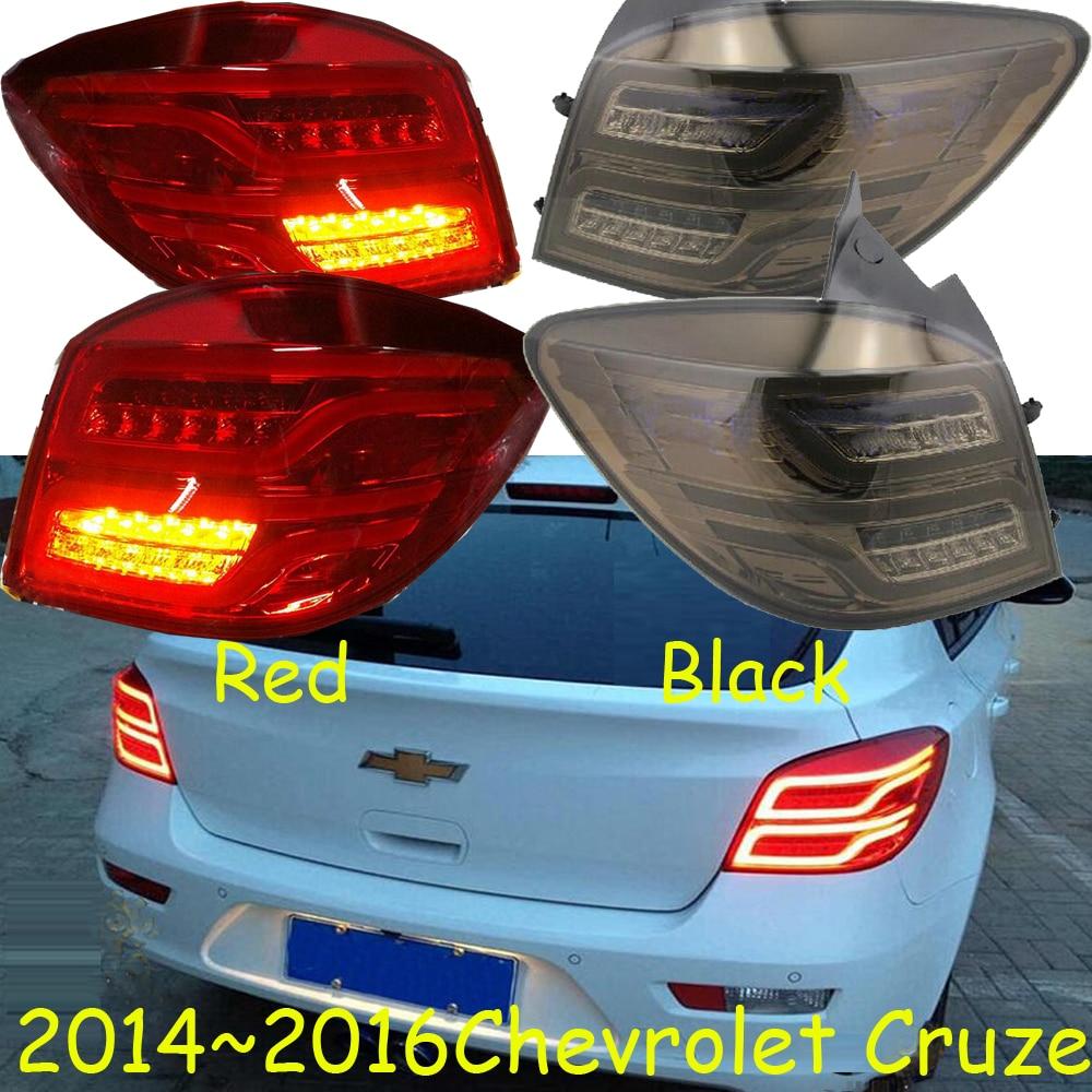 car-styling,cruz Taillight,2014~2016/2015~2017,Red/Black,led,Free ship!cruz fog light;chrome,car tail lamp,astra,beretta